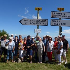 Ausfahrt ins Elsaß