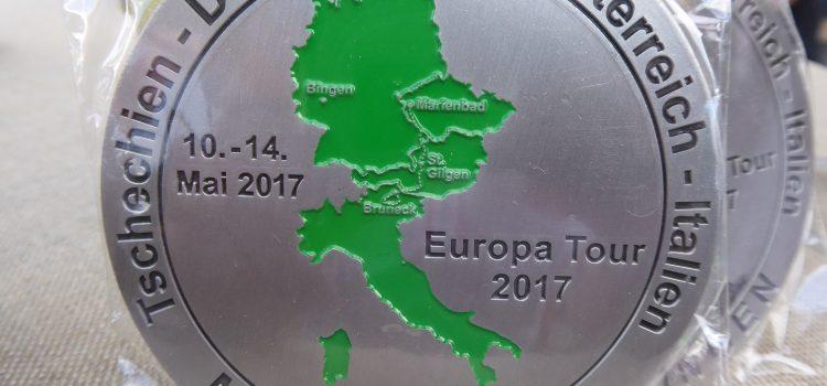 14. Europatour des MSC Bingen – vom 10. – 14. Mai 2017