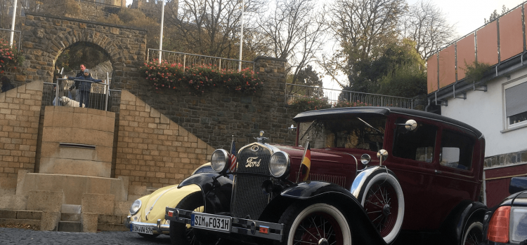 Oldtimertreffen BGM Neff Platz Bingen 2017-10-29