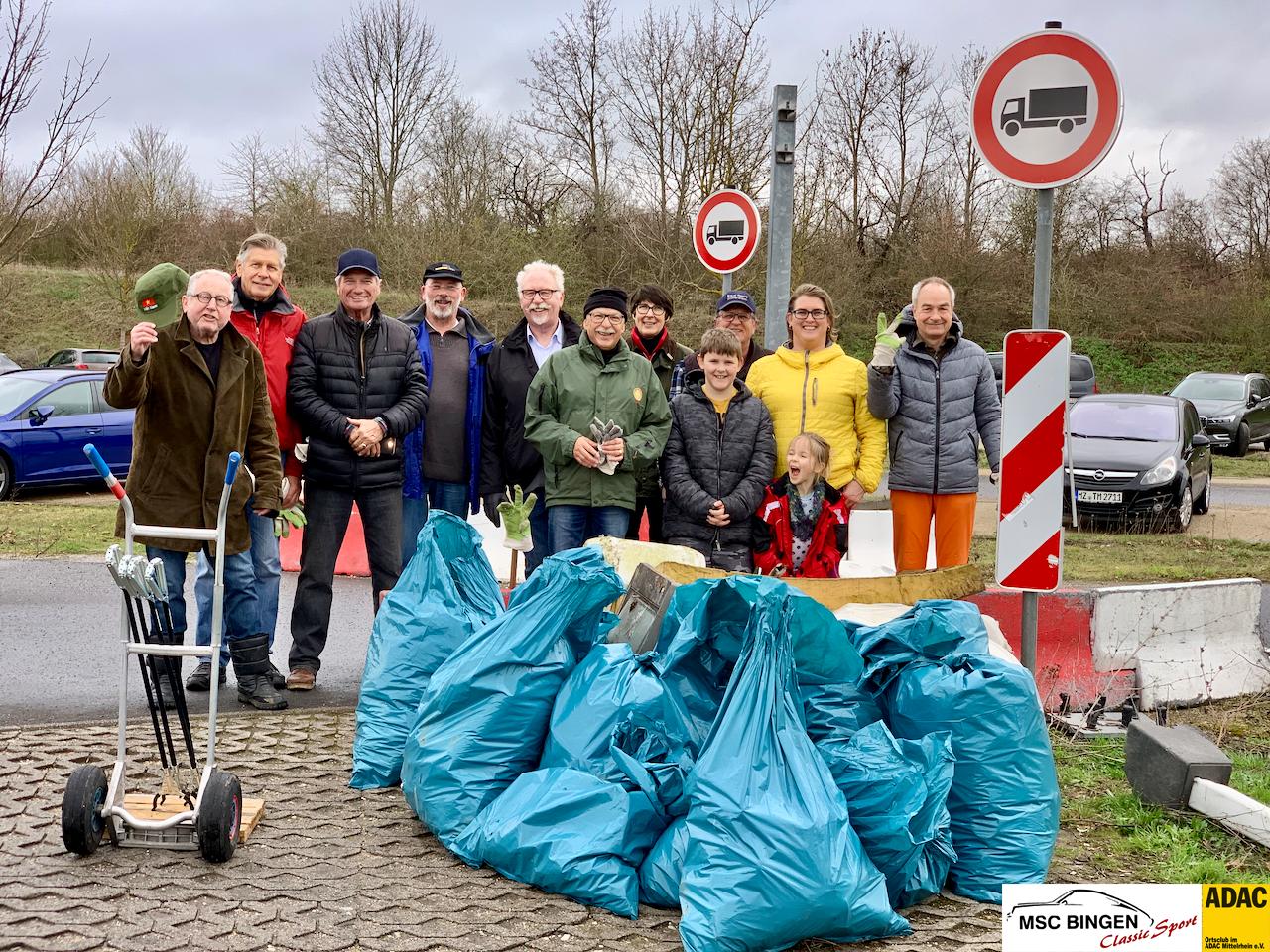 7. Binger Dreck Weg Tag Motor-Sport-Club Bingen ADAC