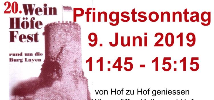 Oldtimertreffen Burg-Layen (2019)