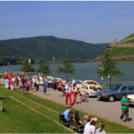 Oldtimertreff am Rhein-Nahe Eck