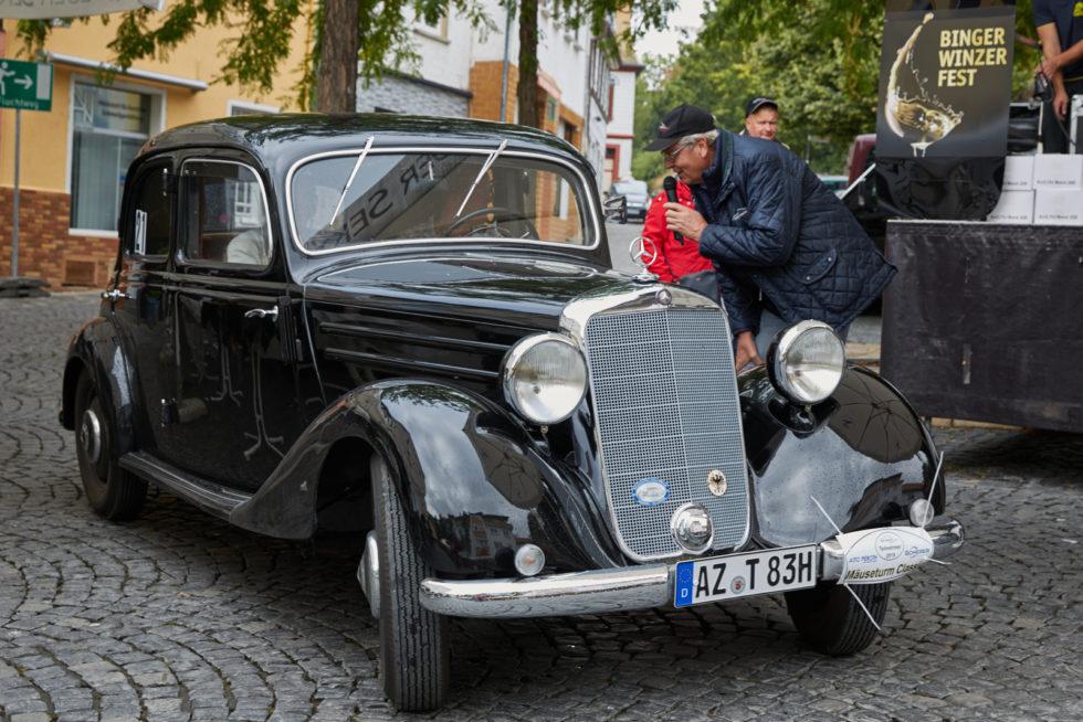 Ältestes Fahrzeug, Mercedes Benz V170 1953 © Karlheinz Lamby