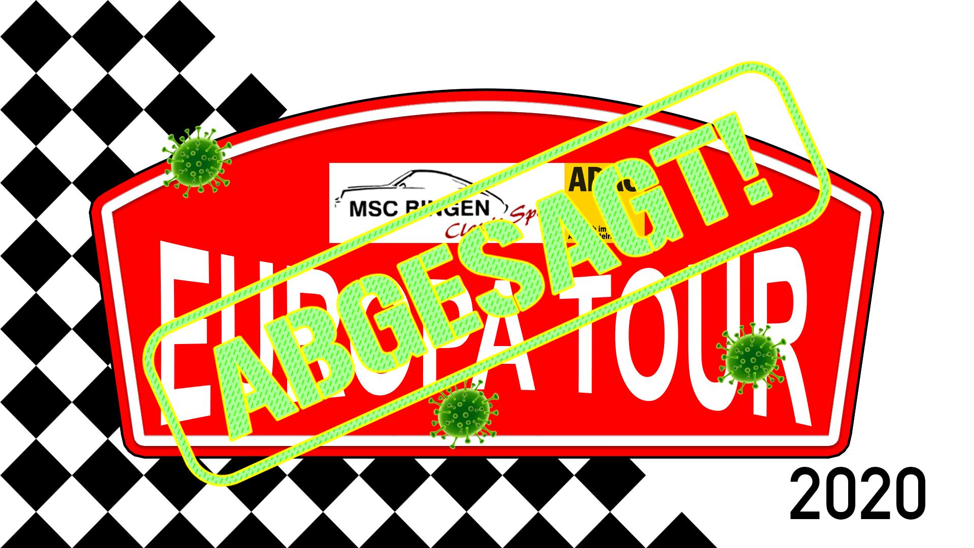 MSC Bingen Europatour 2020 - Absage!