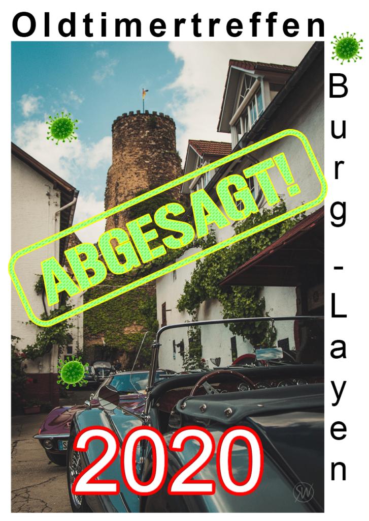 Oldtimertreffen und Weinhöfefest 2020 in Burg Layen abgesagt!
