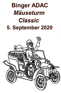 Binger ADAC Mäuseturm Classic und Gaudy 2020 am 05.09.2020