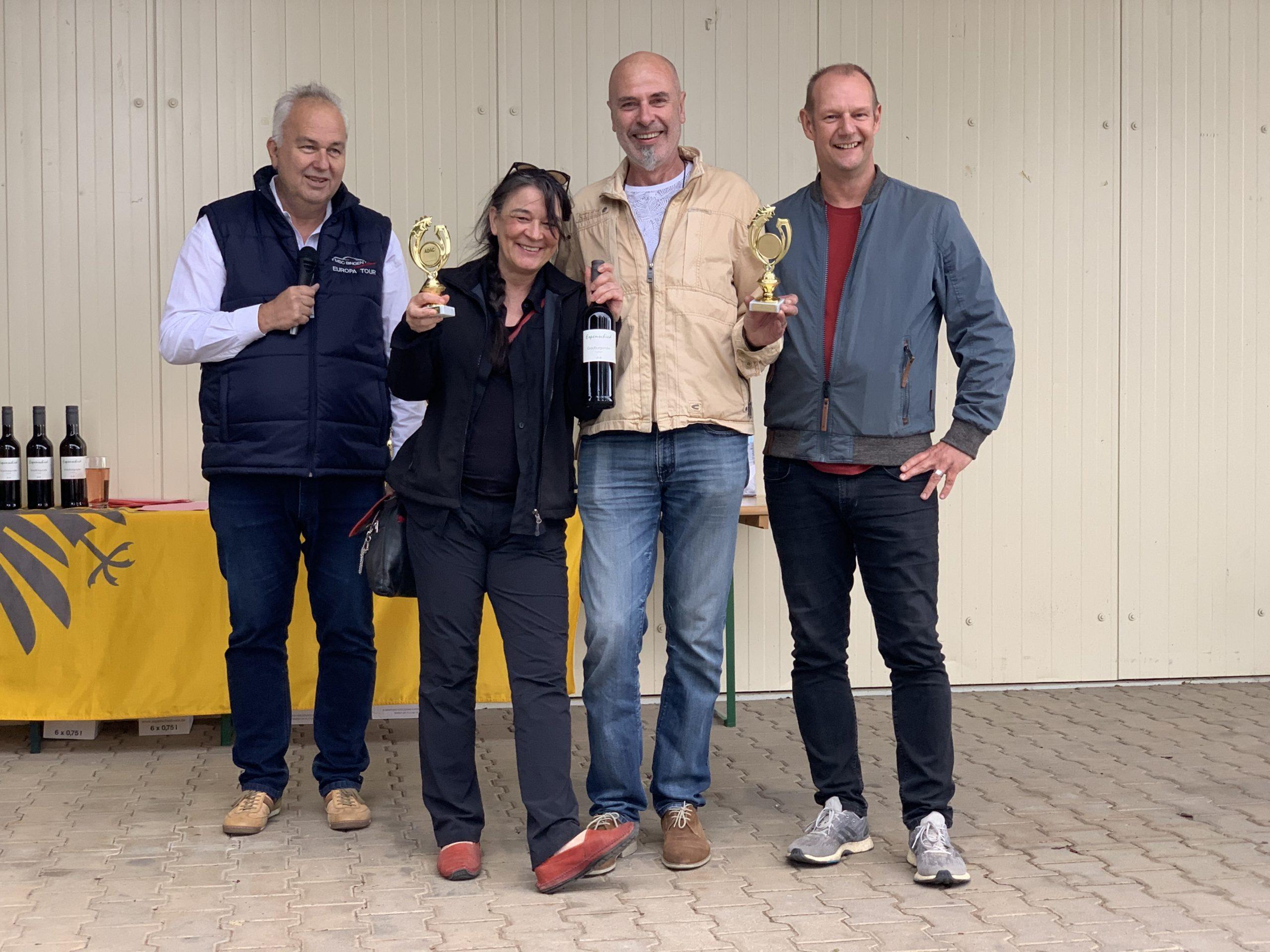 MSC Bingen 2020 Mäuseturm Klassik - Siegerehrung